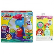 Play-Doh Sweet Shoppe Double Treat Ice Cream Set and Play-Doh Mix n Match Figure Featuring Disney Princess Ariel (bundle