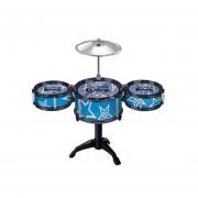 Niños Sistema Tambor Jazz Instrumento Musical Playset-Color Aleatorio