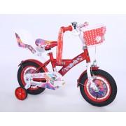 "Favorit Bicikl KIDS PRINCESS 12""crvena/bela (460143)"