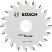 BOSCH SPECIAL Körfűrészlap merülő- és kézi körfűrészekhez 65mm (2609256C83)