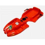 Kormányozható bob GALAXY A2037-CRV - piros