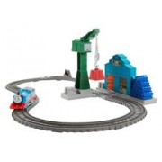 Set Jucarii Thomas and Friends Trackmaster Series Demolition At the Dock
