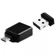 Verbatim USB-minne mikro 32GB med OTG-adapter
