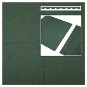 Intergard Dalle caoutchouc vert 1000x1000x45mm (m2)
