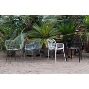 Zuiver Albert Kuip Tuinstoelen - 6 Stoelen Mix Aanbieding + 6 Gratis Zitkussens