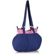 Home Heart Tote(Blue, Pink)
