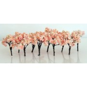 Cherry Cherry Tree Tree Model Railroad Architectural Models For A Diorama Set Of 10