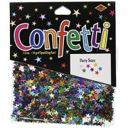 Beistle CN055 Party Stars Confetti 1/2-Ounce