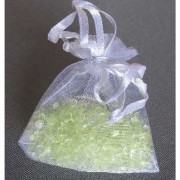 Decoratie kraaltjes lime groen