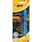 Stilou Bic Easy Clic Comic, 1 bucata/blister