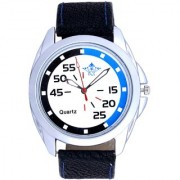 Round Dial Blue Black Multi Colour Analog Wrist Watch By Google Hub