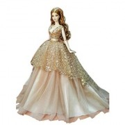 SILVER CASTLE DESIGNER EDITION/ Baabie doll princess wedding and party ball gown/unique collection/outfits only