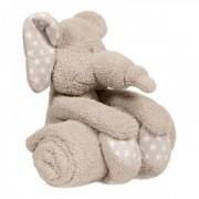 Jucarie De Plus Cu Paturica Pentru Bebelusi Zimbe Elefantul