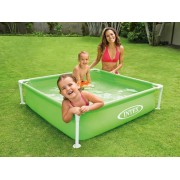 Piscina copii Intex MINI FRAME POOL GREEN 57172
