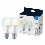 WIZ A67 Whites 2x Lâmpadas LED Wi-Fi E27 Branco Quente/Neutro