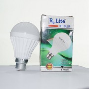 RR Lite 7W LED Bulbs Cool Day Light - Pack of 10