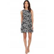 Calvin Klein Lace Scuba Fit & Flare Dress CD5M8R8Y Black/Cream