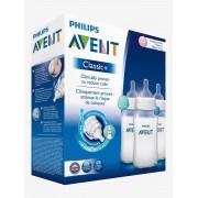 AVENT Lote de 3 biberões de 330 ml anticólicas da Philips AVENT sem cor