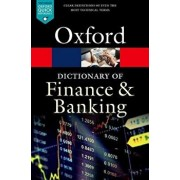 A Dictionary of Finance and Banking, Paperback/Jonathan Law