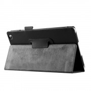 Shop4 - Lenovo Tab 3 8 Hoes - Book Cover Lychee Zwart