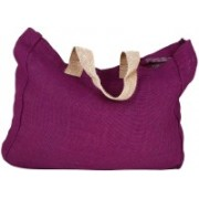 PRAHAN INTERNATIONAL Carry Bag Natural Juit Hand Carry Bag with two Handle Strap PS2007F(Magenta)