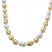 南洋真珠 マルチカラー グラデーション ネックレス【QVC】40代・50代レディースファッション