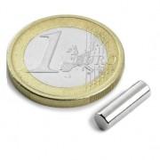 Magnet neodim cilindru, diametru 4 mm, putere 610 g
