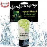 Lubricante Topco Sales Glo glo a go go base agua para masajes eróticos y lubricante sexual