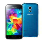 Samsung Galaxy S5 Mini G800F azul Caja deteriorada