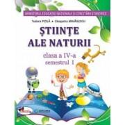 Stiinte ale naturii . Manual pentru clasa a IV-a sem I+sem II contine editie digitala Pitila