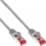 Cablu inline Patchcord S/FTP, PiMF, Cat.6, 250MHz, halogen free, szary 50m (76955)