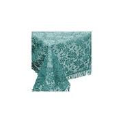 Unique Living Buiten tafelkleed/tafellaken zeeblauw 140 x 180 cm