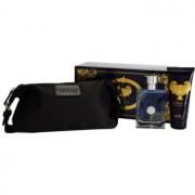 Versace Pour Homme coffret VII. Eau de Toilette 100 ml + gel de duche 100 ml + bolsa de cosméticos 25 x 10,5 x 12 cm
