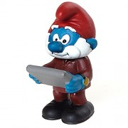 Schleich North America Schleich Boss Smurf Toy Figure