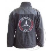 Mercedes polár dzseki fekete XL