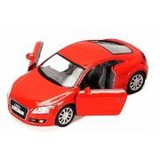 2008 Audi Tt Coupe, Blue Kinsmart 5335 D 1/32 Scale Diecast Model Toy Car