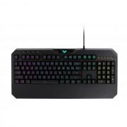 KBD, ASUS TUF Gaming K5, Mech-Bran, RGB Aura Sync, USB, Black