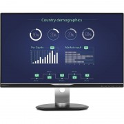 Monitor LED Philips 258B6QUEB/00 25 inch 5ms Black