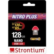 Strontium Nitro Plus Nano 128 GB OTG Drive(Red, Type A to Micro USB)