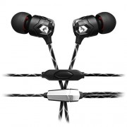 V-MODA ZN In-Ear Modern Audiophile Headphones with 1 Button Remote and Microphone