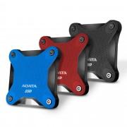 SSD EXTERNAL, 480GB, A-DATA SD600Q, USB3.1, Red (ASD600Q-480GU31-CBK)