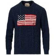 Polo Ralph Lauren Knitted Fisherman Flag Sweater Navy