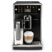 Автоматична еспресо машина Philips Saeco PicoBaristo SM5570/10, 13 напитки, 1,7л резервоар, вградена първокласна кана за мляко, 12-степенна регулируема мелачка, черна