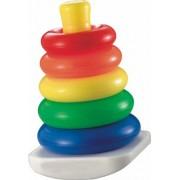 Fisher-Price Brilliant Basics Rock-a-Stack, Multicolor