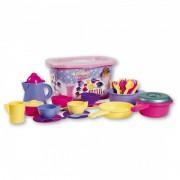 Set accesorii bucatarie Cucina Androni Giocattoli, 34 piese, multicolor