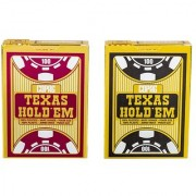 Copag Texas Hold'Em - 100% Pure Plastic Poker Playing Cards for Poker games / party