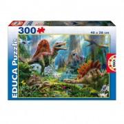 Educa Dinoszaurusz puzzle, 300 darabos