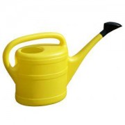 Geli kunststof gieter 5 liter geel