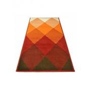 Covor Decorino, Modern & Geometric, polipropilena, C-020106, 60x110 cm, Multicolor