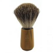 Oryginalny pędzel do golenia - 100% BORSUK - karmelowy bambus - SCHRAMM